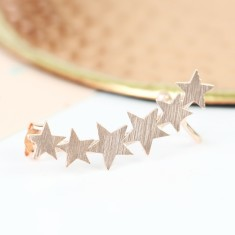 Single Shooting Stars Ear Cuff