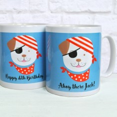 Personalised Fido Pirate Mug
