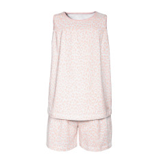 Girl's Summer Leopard Pyjamas