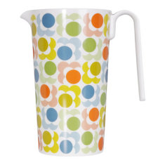 Orla Kiely melamine pitcher in multi shadow flower