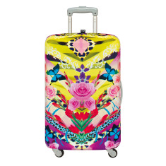LOQI shinpei naito collection luggage cover in flower dream