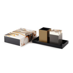 Decadence 4 Piece Storage/bathroom set