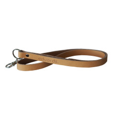 Leather Key Strap Or Lanyard In Nature