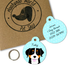 Greater Swiss Mountain Dog Personalised Name ID Tag