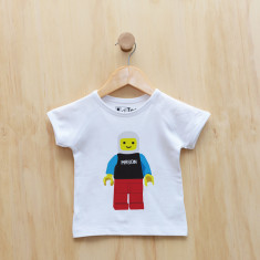 Personalised blockman t-shirt