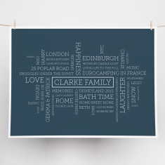 Intersection personalised print