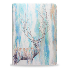 Watercolour Stag/Deer iPad Tablet Folio Case