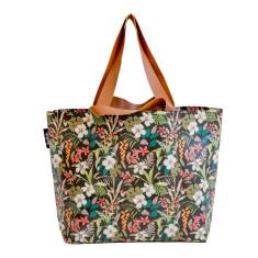 Shopper Tote in Hibiscus print