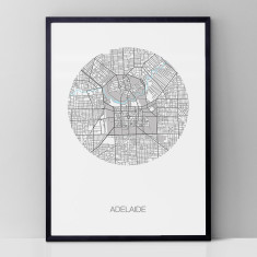 Adelaide round print