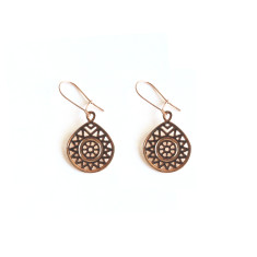 Rose Gold Sahara Earrings