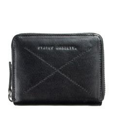Darius leather wallet in black
