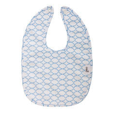 Baby bib in Clear Skies Blue
