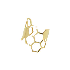Honeycomb Hexagon Cuff