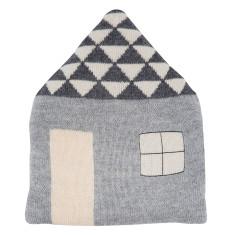 Danish Alpaca pillow favourite place in grey