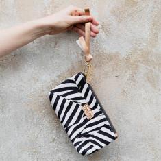 Zebra pouch