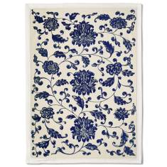 Blue Florals Tea Towel