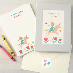 Personalised Children's Writing Set