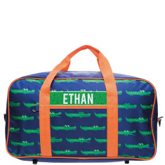 Personalised Overnight Bag - Croc