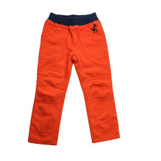 Boy's trousers in orange
