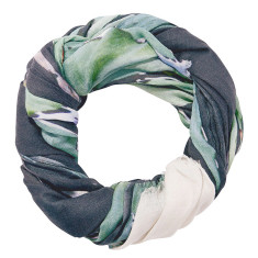 Pond Life giant wool scarf
