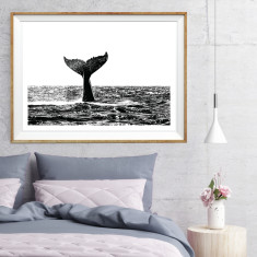 Humpback whale art print (various sizes)