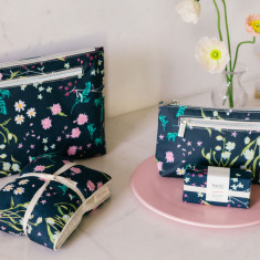 Heat Pillow, Cosmetic & Makeup Bags, & Soap (various designs)