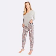 Harmony Pj Pant Grey / Pink
