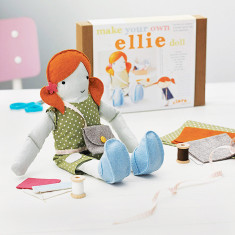 Personalised Make Your Own Doll Sewing Kit