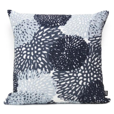 Waratah Large Cushion Cover in Pastel Blue (Sunburnt Country Collection)