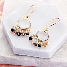 Aisha drop earrings
