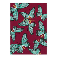 Wouf notebook in butterfly (multiple sizes)