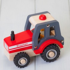 Childrens Wooden Tractor