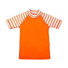 Classic short sleeve rashie for boys in Stripe Popsicle