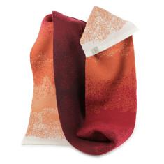 Fade merino wool scarf