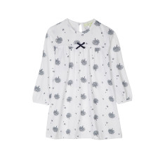Navy Apple Tree Nightie