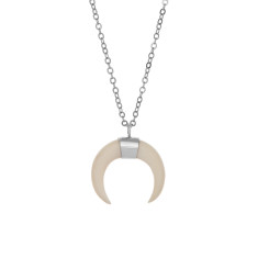 Sparkle & Bone Necklace