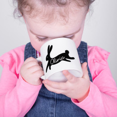 Personalised Bunny Rabbit Children's Mug