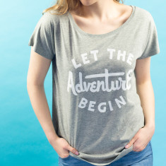 Let The Adventure Begin Women's Loose Fit T Shirt
