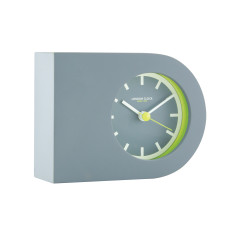 London Clock Company Tangent Grey Horizontal Table Clock