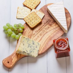 Personalised Italian Olive Wood Antipasti Serving Board