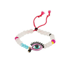 Adjustable eye bracelet