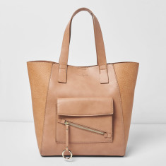 Style Scene Vegan Leather Tote Bag - (Various Colours)