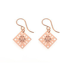 Rose Gold Sienna Earrings
