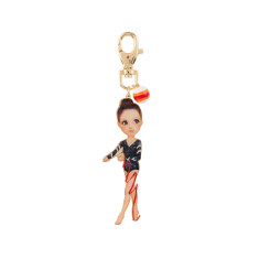 Larissa The Gymnast Key Ring