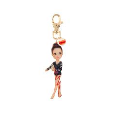 Larissa The Gymnast Key Ring