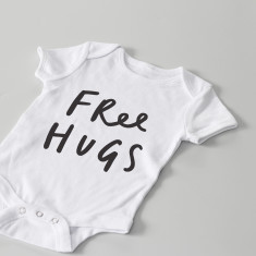 Free Hugs Baby Grow