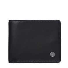 Leonard leather wallet in black