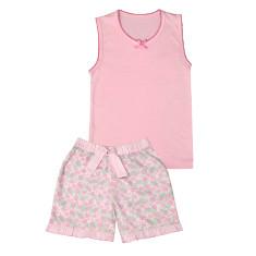 Frilly Floral Pyjamas