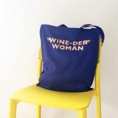 Wine lover tote bag