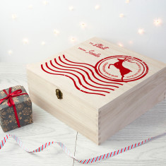 Personalised North Pole Special Delivery Christmas Eve Box - Large